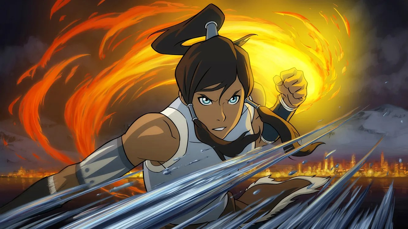 legend of korra series