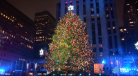 The Rockefeller Center Christmas Tree goes live
