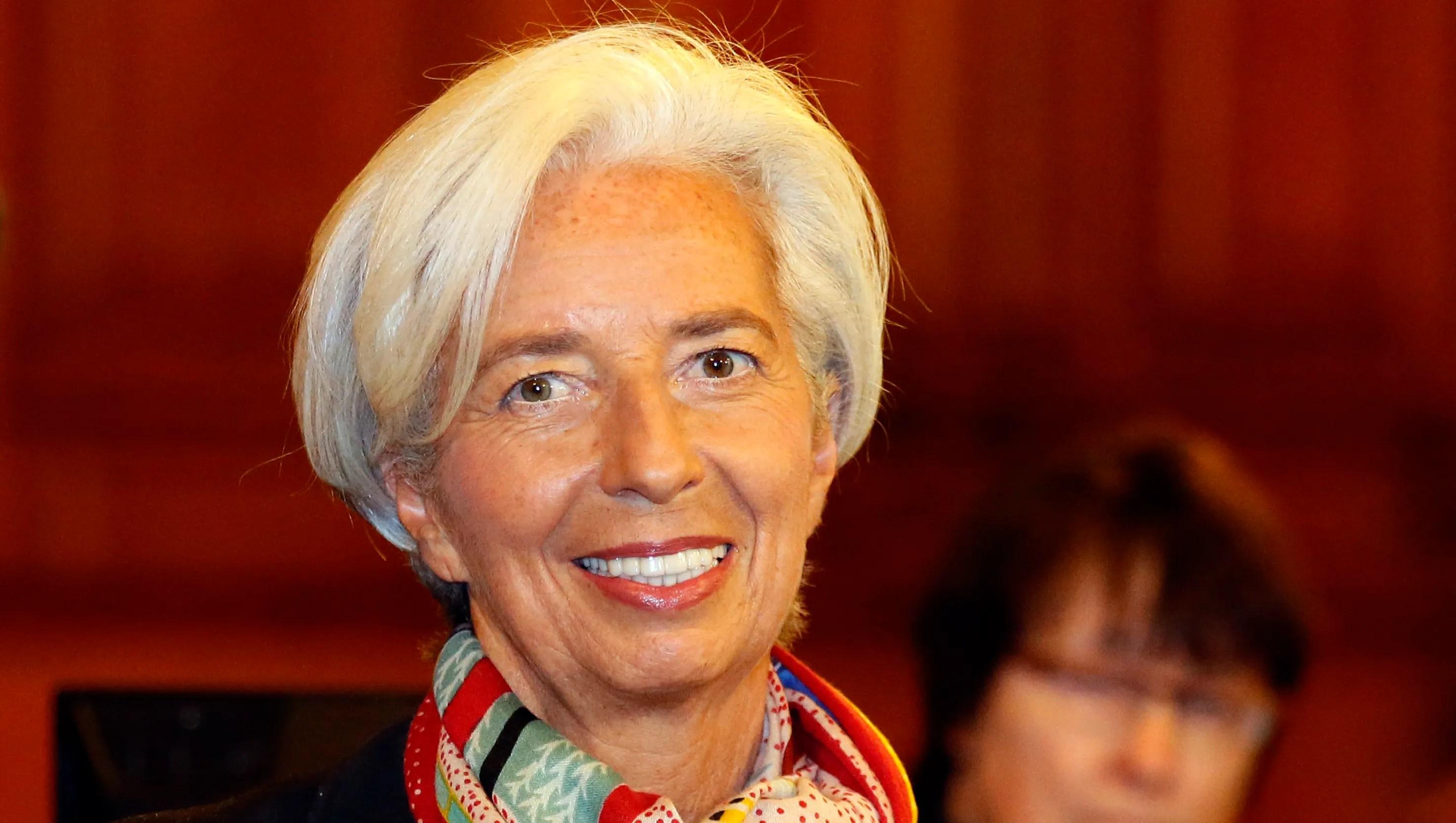 Facebook Christine Lagarde - Year of Clean Water