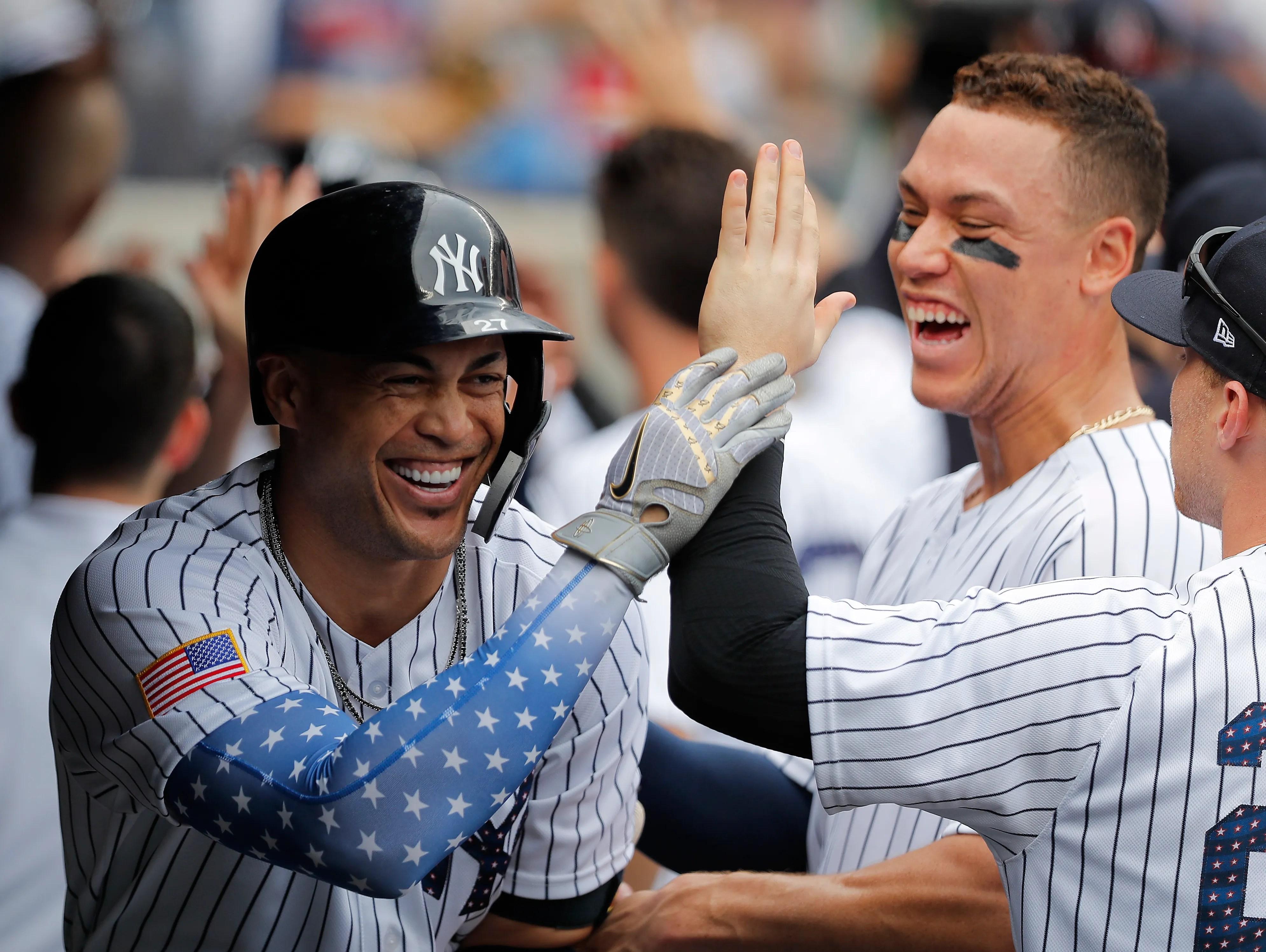 New York Yankees Judge Severino Torres And Chapman To