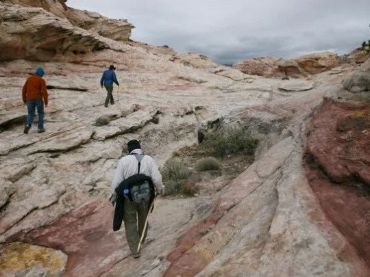 The Friends of Gold Butte lead a tour across the remote