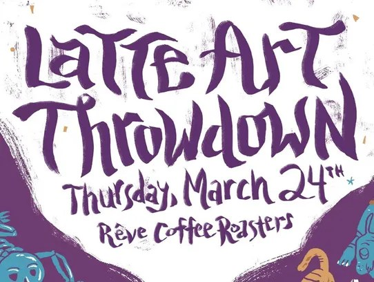 The Latte Art Throwdown pits baristas against eachother