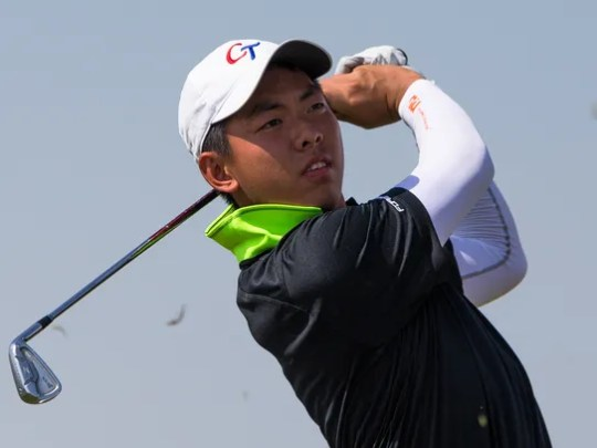Chun An Yu, pictured from a 2015 tournament, already