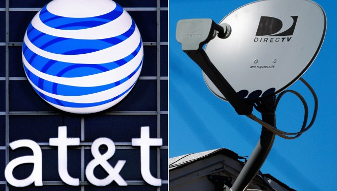 AT&T isn't commenting on an anonymous report that it might split from DirecTV.
