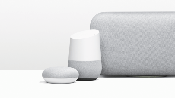 Google Home lineup of smart speakers