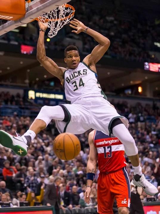 Bucks 123 Wizards 96 Giannis Scores Career High 39 To