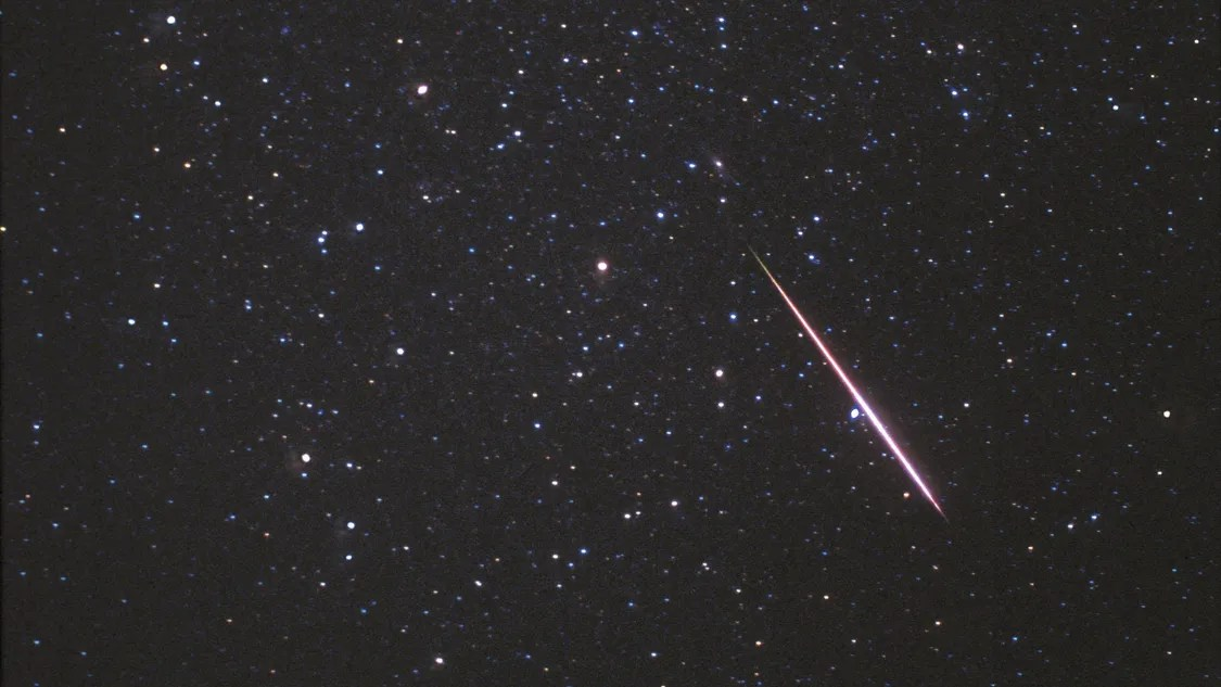 There Meteor Shower Tonight