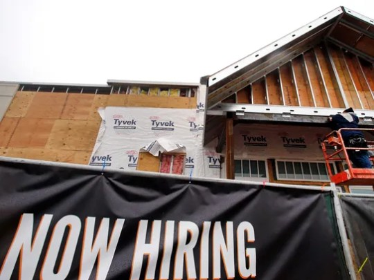 The unemployment rate is down to 5%, according to the