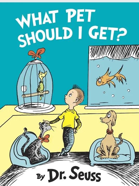 New Dr. Seuss book