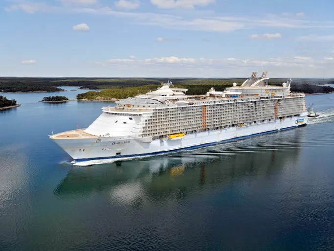 Royal Caribbean boasts the largest cruise ships in the world, so there's no shortage of activities for everyone.