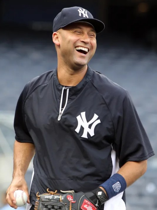 Derek Jeter, recently retired New York Yankee shortstop