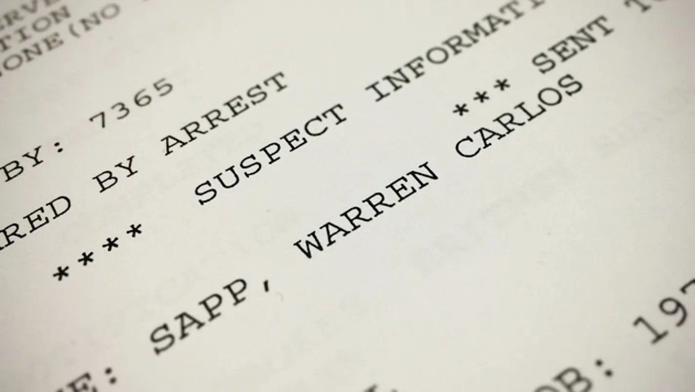 Warren Sapp Bank Account
