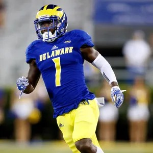 Image result for blue hens malcolm brown