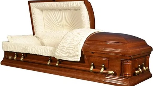 Superstores like WalMart Costco offer coffins starting at 800