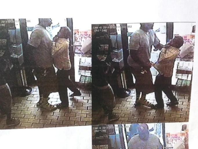 Surveillance photos provided by Ferguson Police Department.