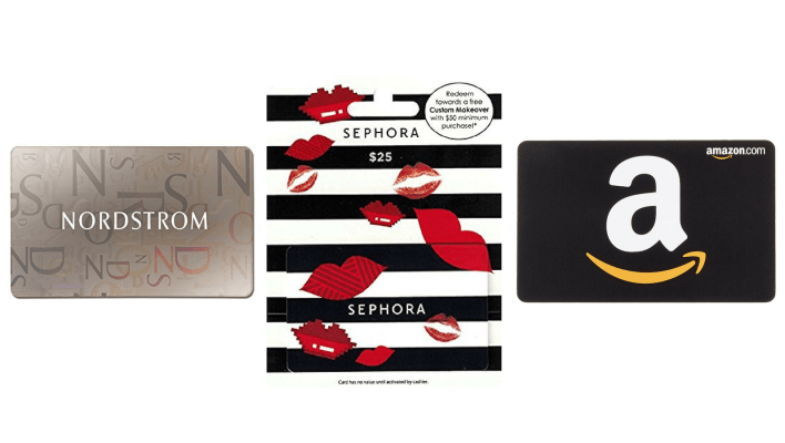 Best gifts for women: Gift cards