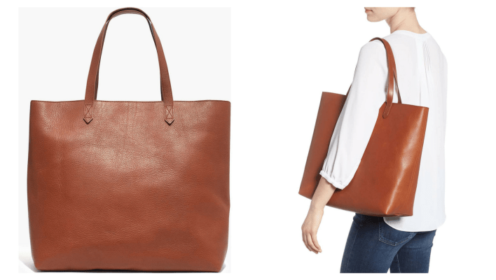 Best gifts for women: Madewell Transport Tote