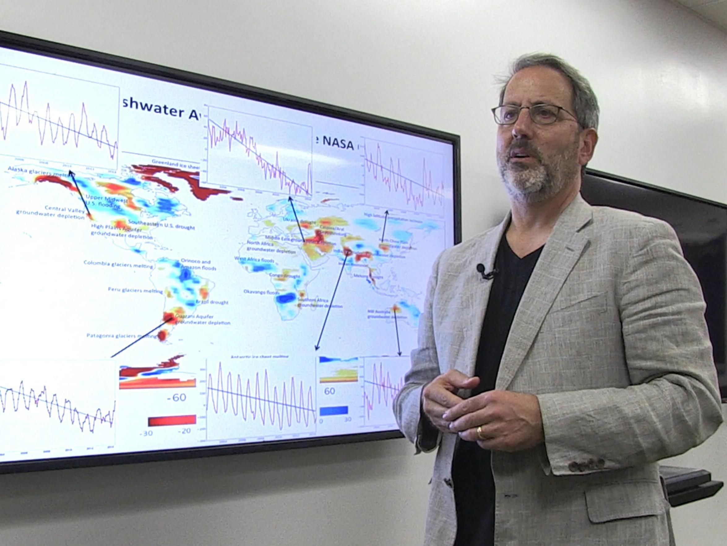 Jay Famiglietti, a professor of Earth System Science