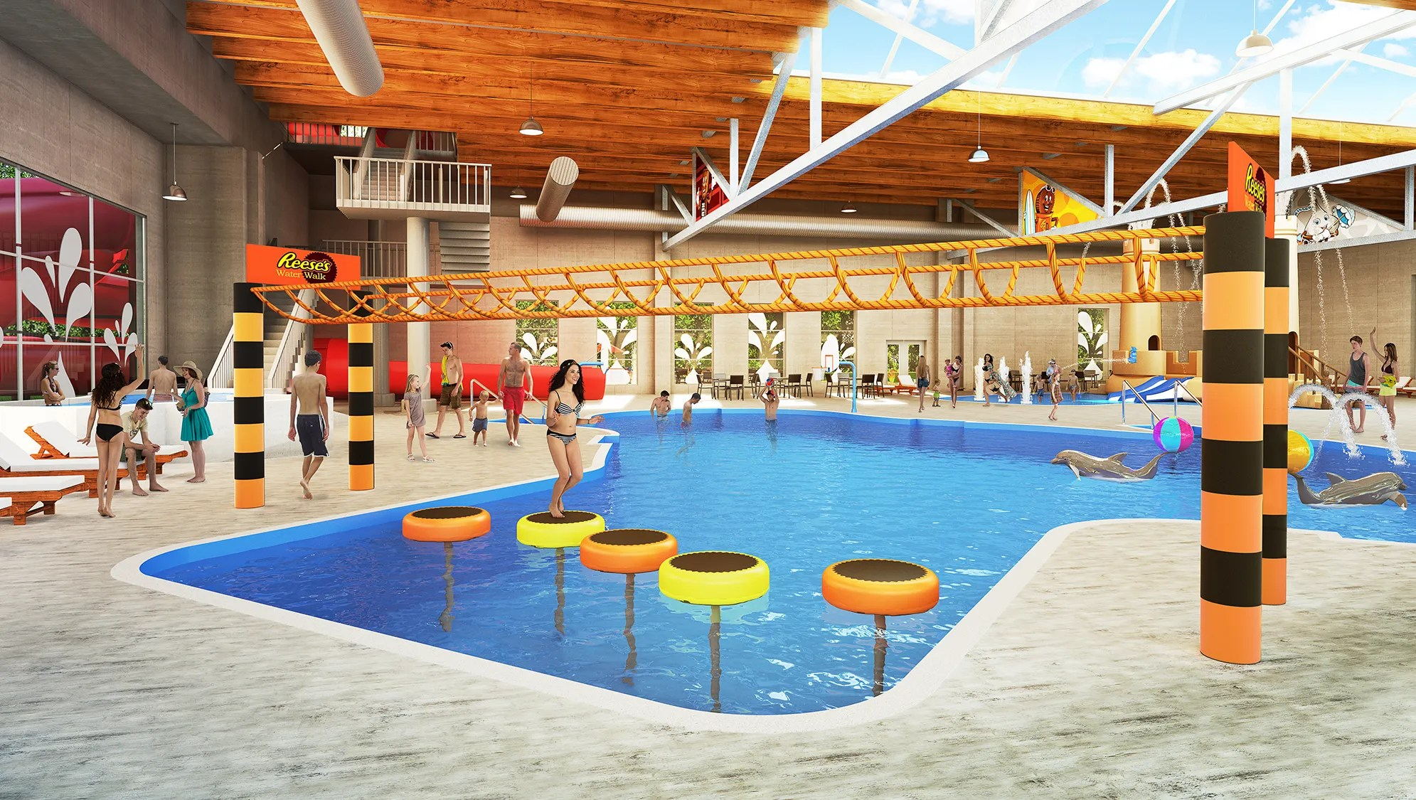 Indoor Pool Complex Hershey Lodge