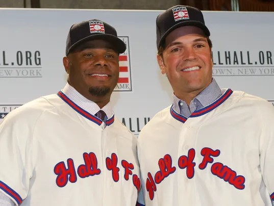 Image result for griffey jr piazza hall of fame