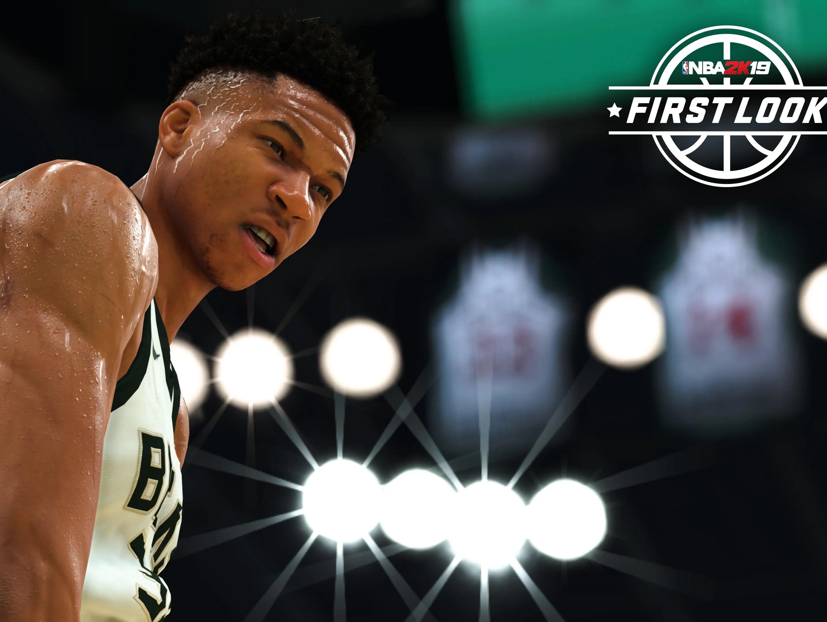 Bucks Giannis Antetokounmpo Is NBA 2K19 Video Game Cover Star
