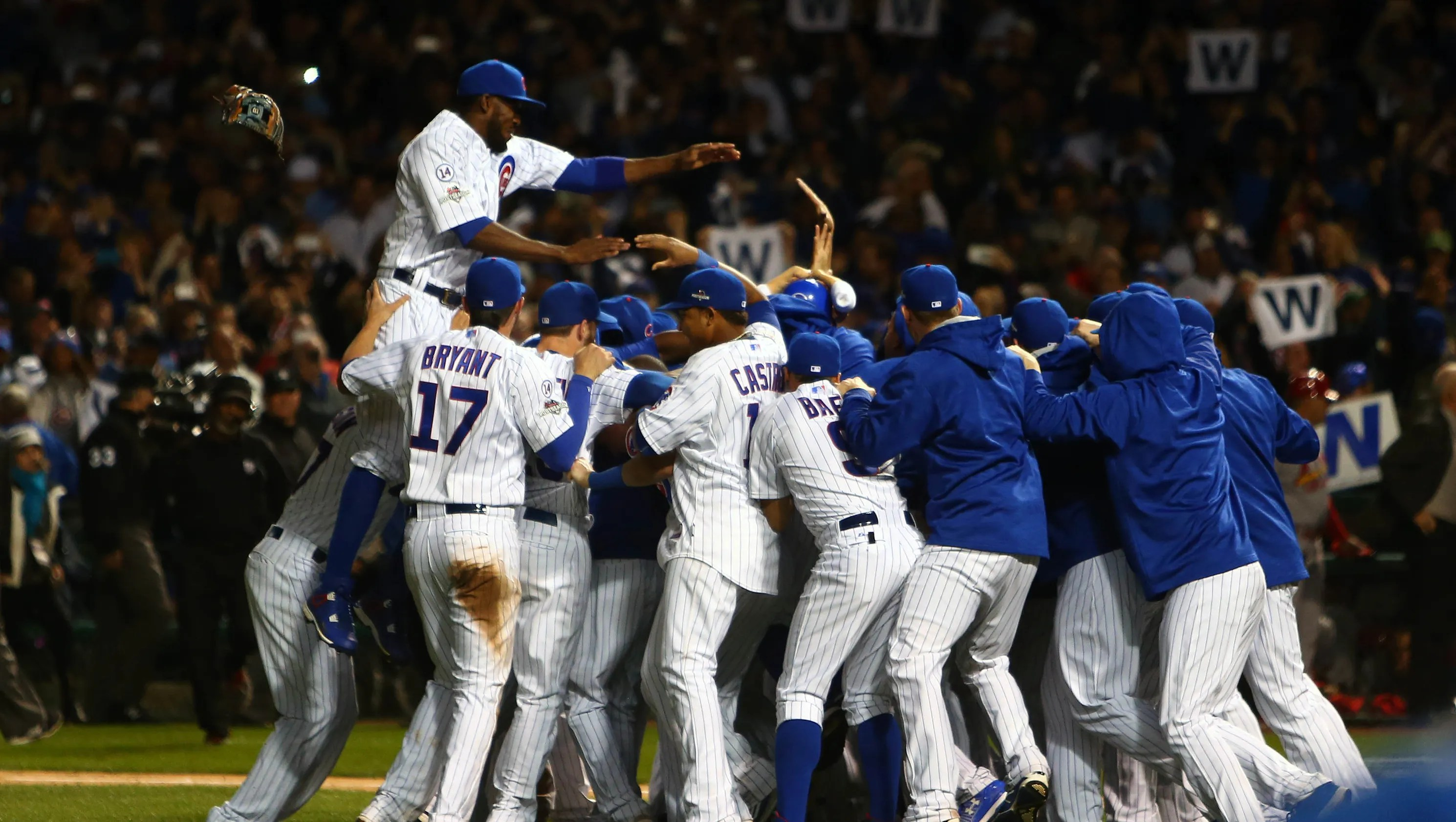 Image result for 2015 nlds cubs clinch
