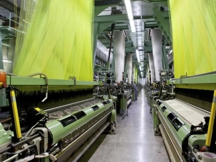 20. Textile and fabric finishing mills Employment change