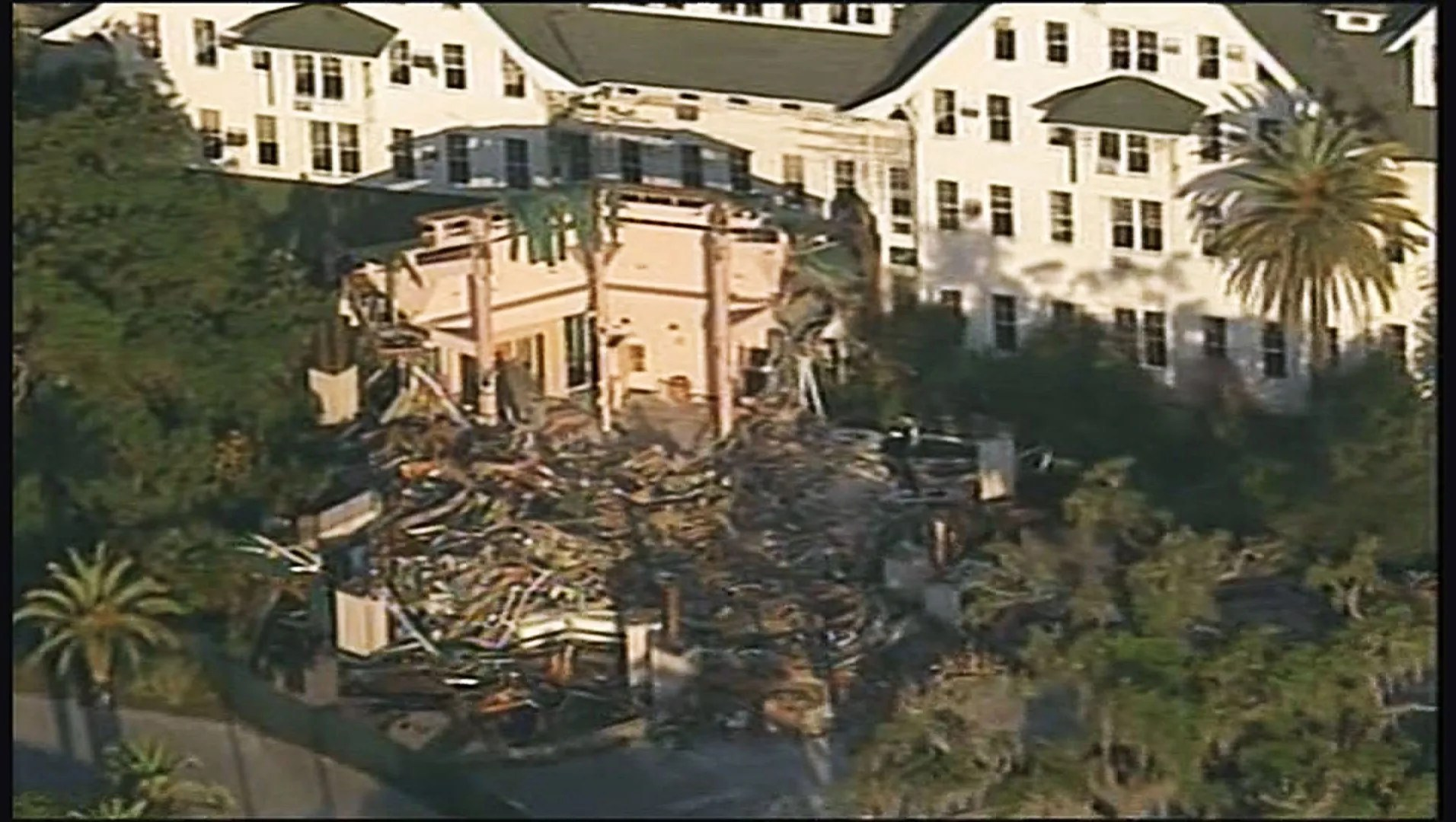 Demolition Underway Of Belleview Biltmore Hotel