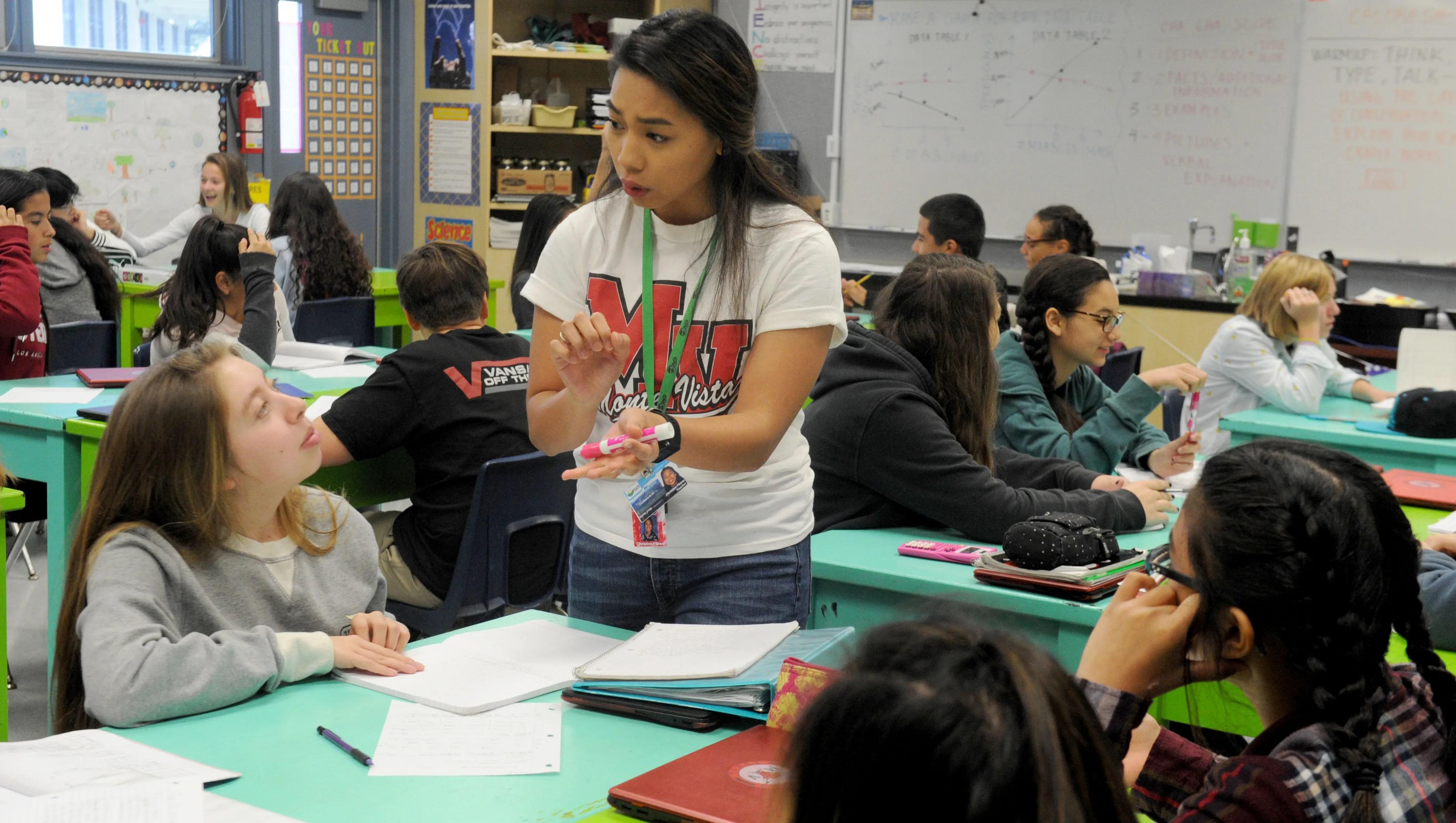 Ventura County Working Combat Teacher Shortage