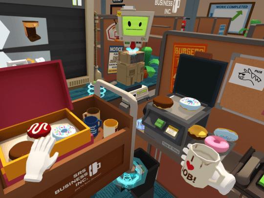 A scene from 'Job Simulator.'