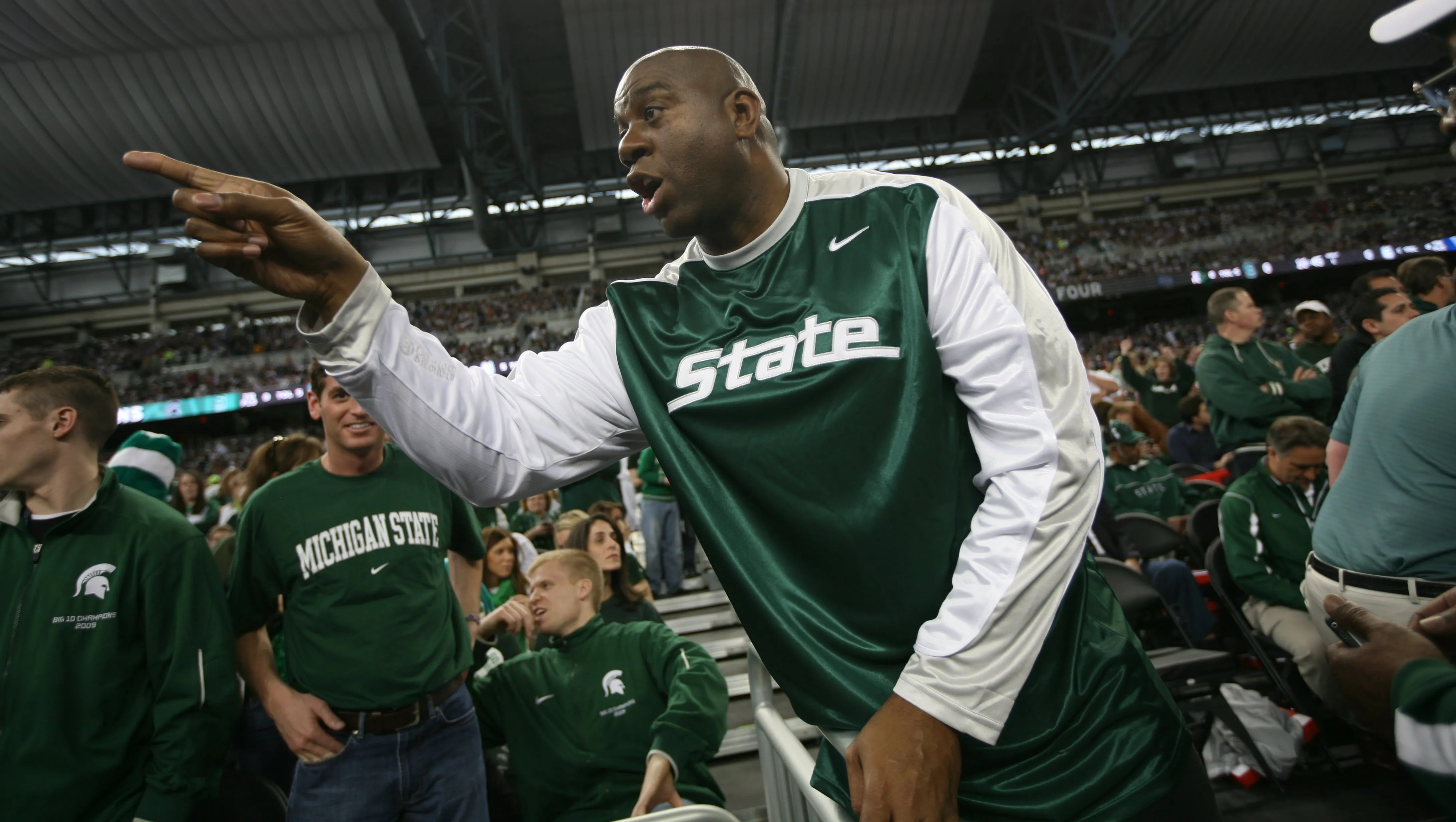 Magic Johnson Michigan State officials aware of assaults