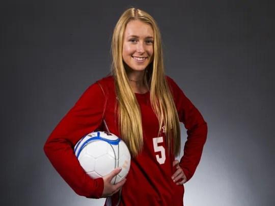 Phoenix Arcadia junior striker Kalena Teufel is a finalist