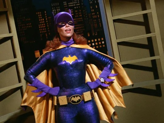 Yvonne Craig portrays the crime-fighting Batgirl in