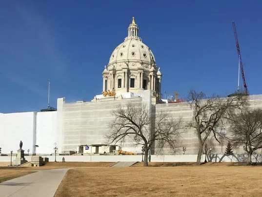 Minnesota state capitol march 2015