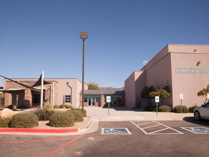 Greatlooking Valley schools Zaharis Elementary School in