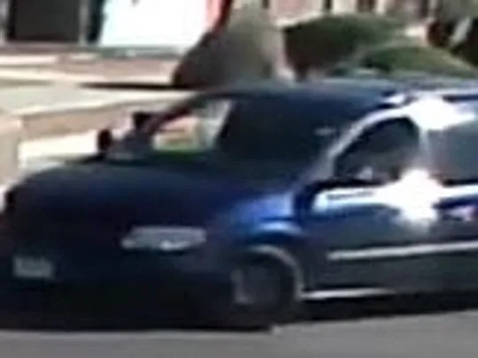 Police are searching for two people who tried to rob