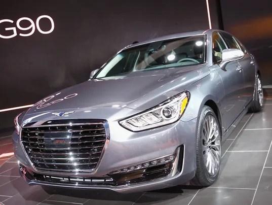 Hyundai Starts Luxury Genesis Car Brand