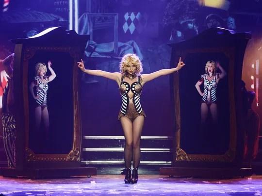 AP CORRECTION Britney Spears Residency Vegas