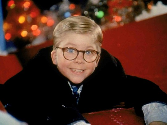 """In """"A Christmas Story,"""" all Ralphie wants for Christmas is a Red Ryder BB gun."""