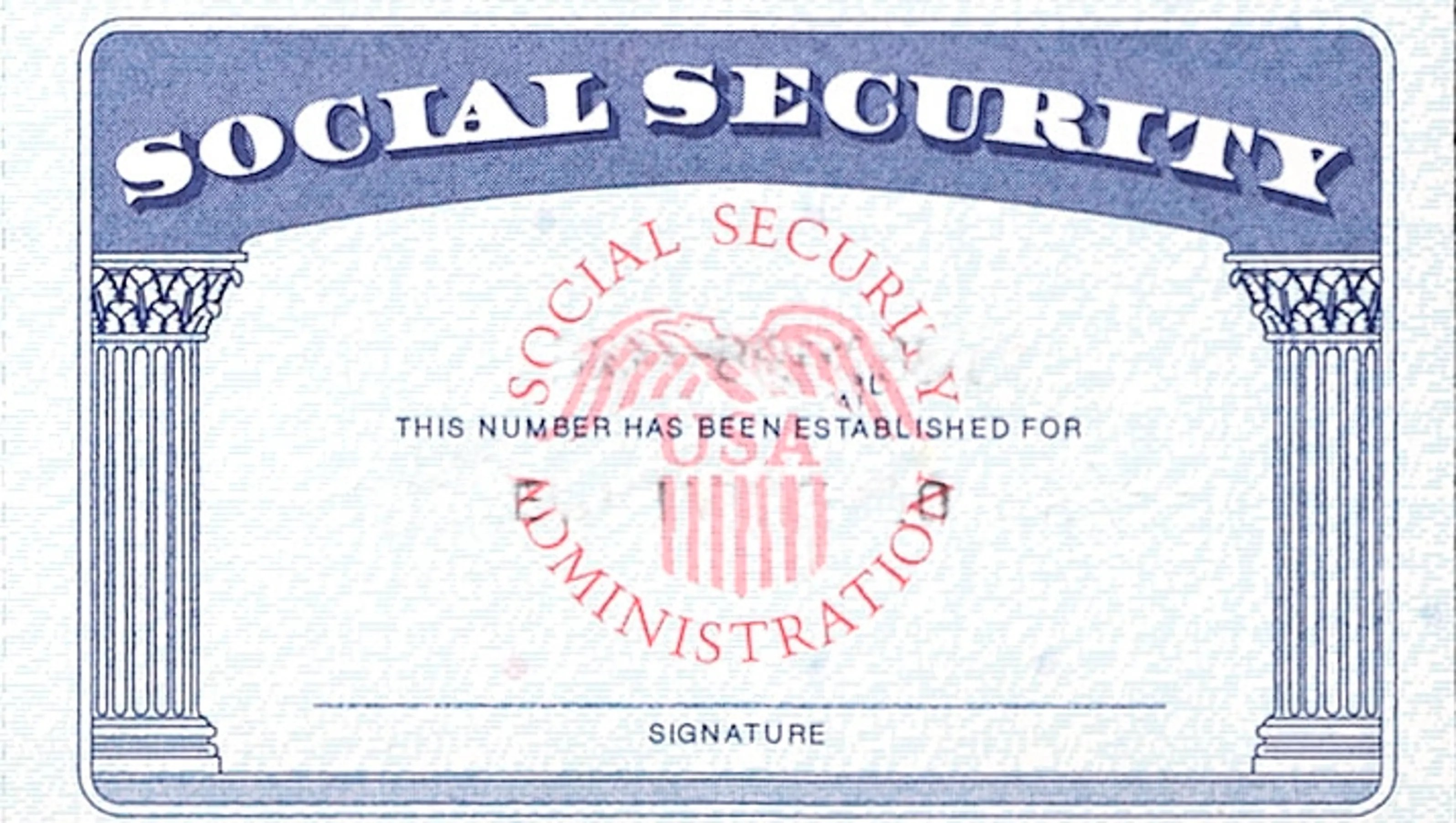 identity theft protection social security card
