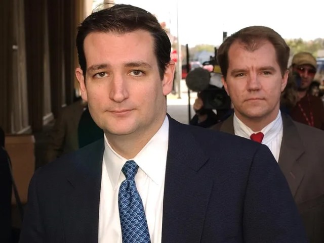 Ted Cruz, afterwards a Texas barrister general, and Don.