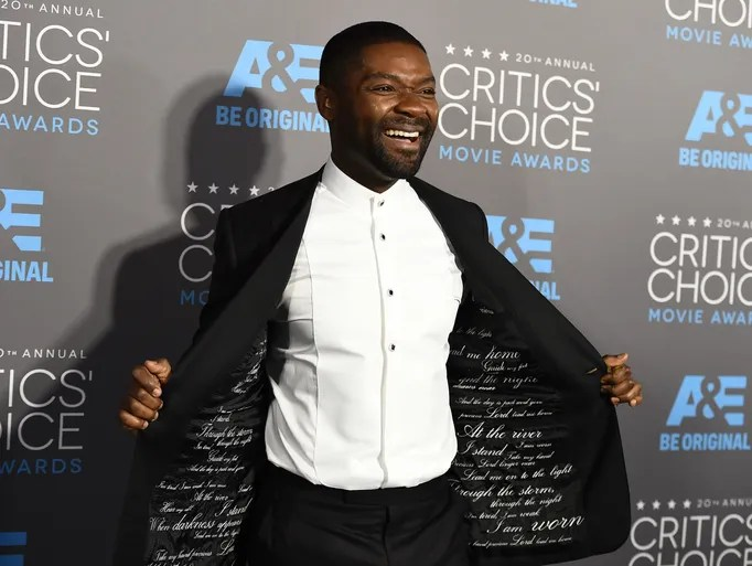 David Oyelowo arrives at the Critics' Choice Movie