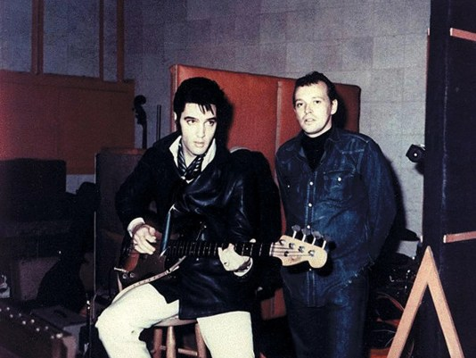 Elvis and Chips Moman
