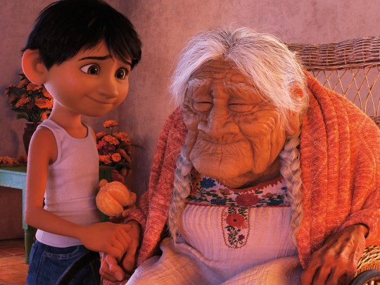 """In """"Coco,"""" Miguel has a special bond with his great-great-grandmother."""