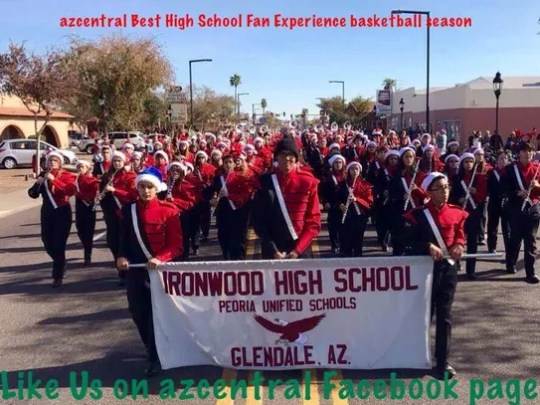 Glendale Ironwood is a co-winner of the azcentral.com