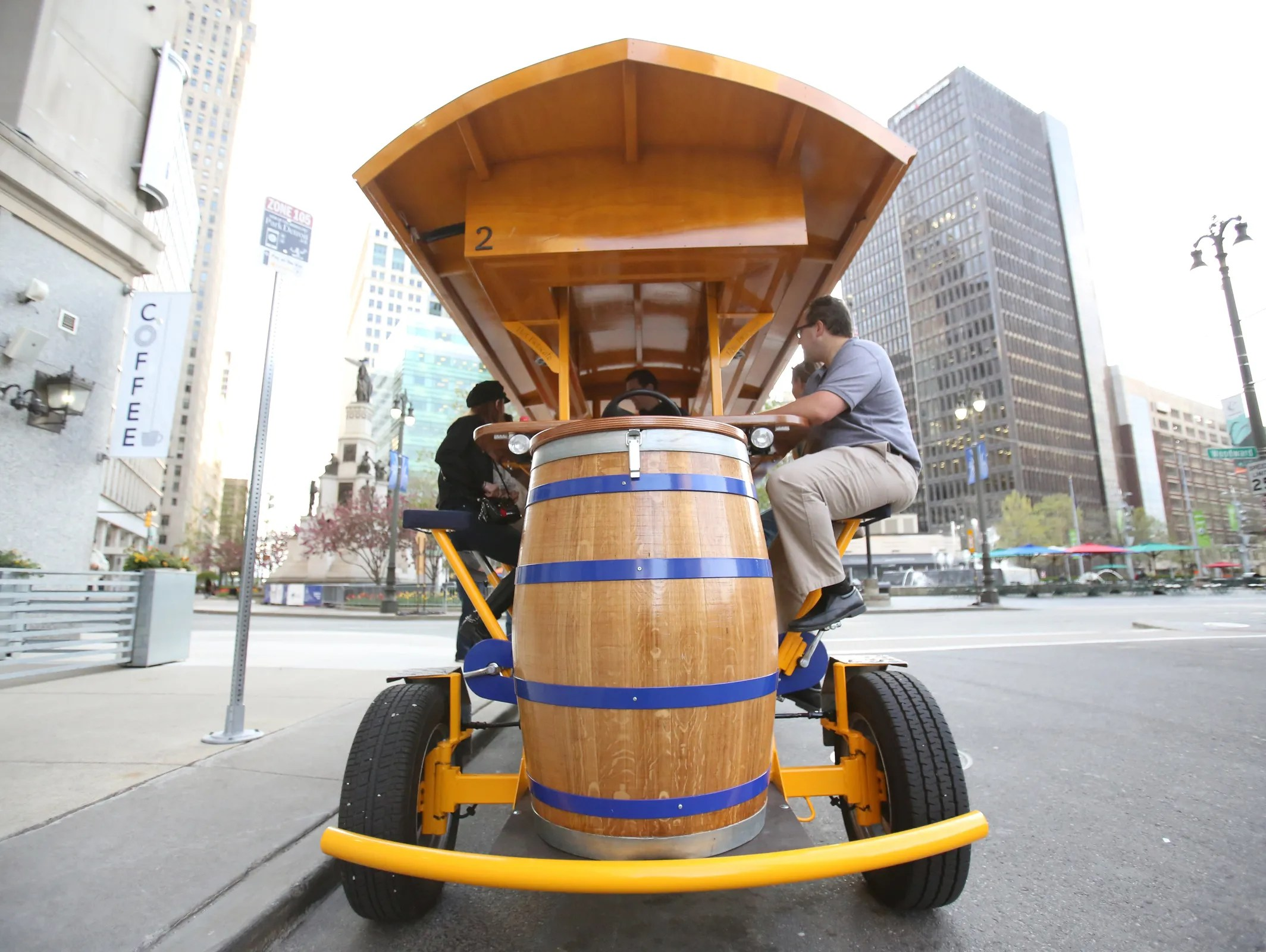 Detroit Will Allow Booze On Pedal Pubs