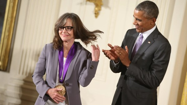 Photo of Obama and Sally Fields
