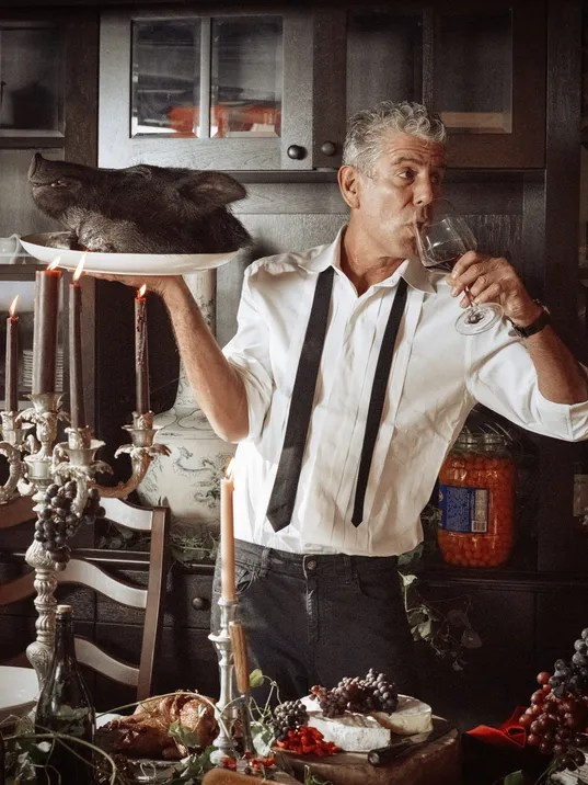anthony bourdain kitchen confidential gel mats bourdain: i'd love to be able say i'm from detroit