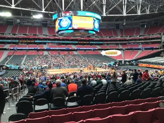 Main Level Section 111, Row 31, Seats 17-18: $2,100