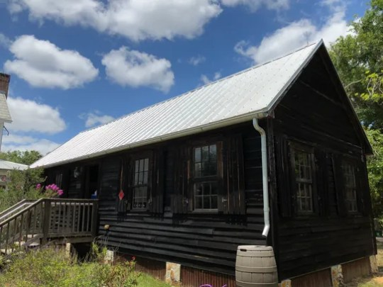 The Sams family cabin is the oldest house in Brevard